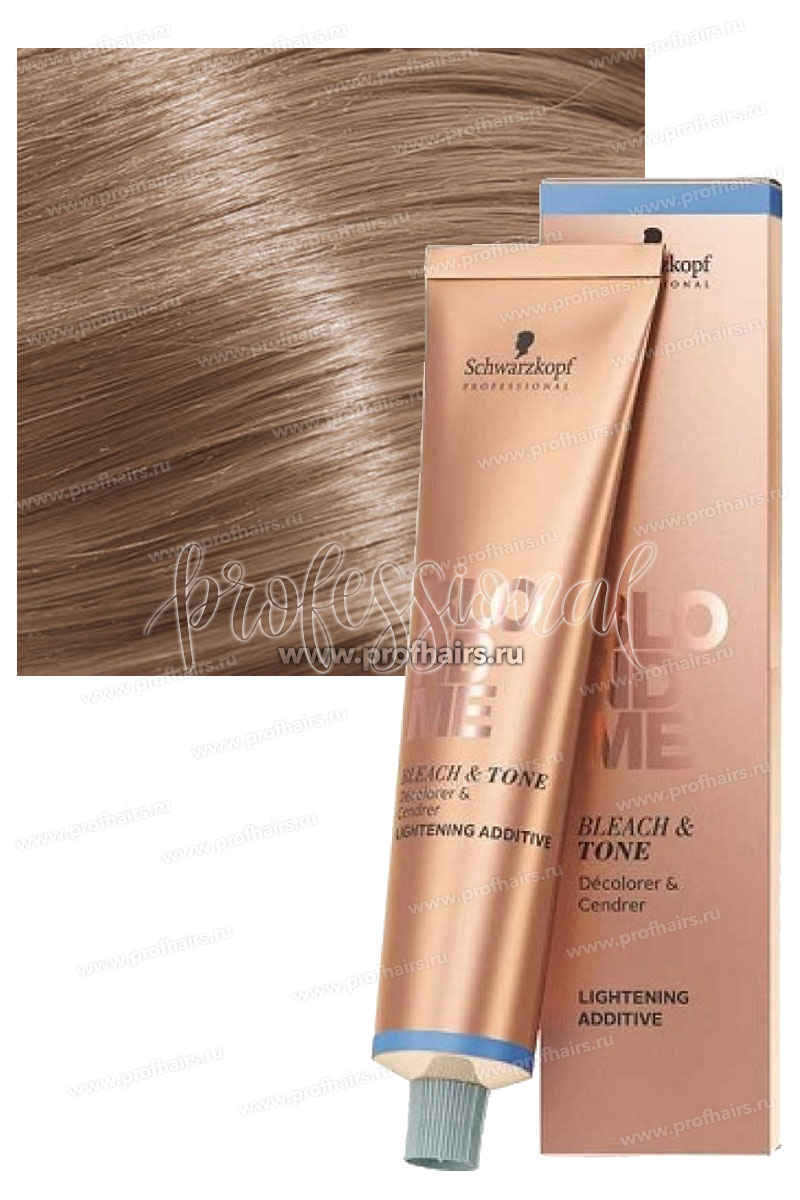 Schwarzkopf BlondMe Bleach&Tone Cool Additive Холодный тонер 60 мл.