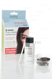 Godefroy Instant Eyebrowtint ������-��� � �������� ��� ����������� ������ Dark Brown 15 ������