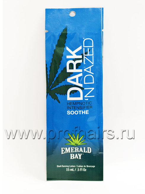 Emerald Bay Dark'n Dazed С конопляным маслом. Без бронзаторов. 15 мл.
