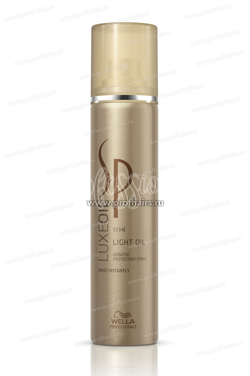 Wella SP Luxe Oil Light Oil Keratin Protection Spray Спрей для защиты кератина волоса (Сухое масло) 75 мл.