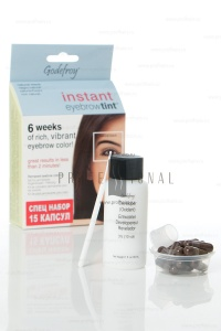 Godefroy Instant Eyebrowtint ������-��� � �������� ��� ����������� ������ Natural Black 15 ������
