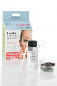 Godefroy Instant Eyebrowtint ������-��� � �������� ��� ����������� ������ Light Brown 15 ������