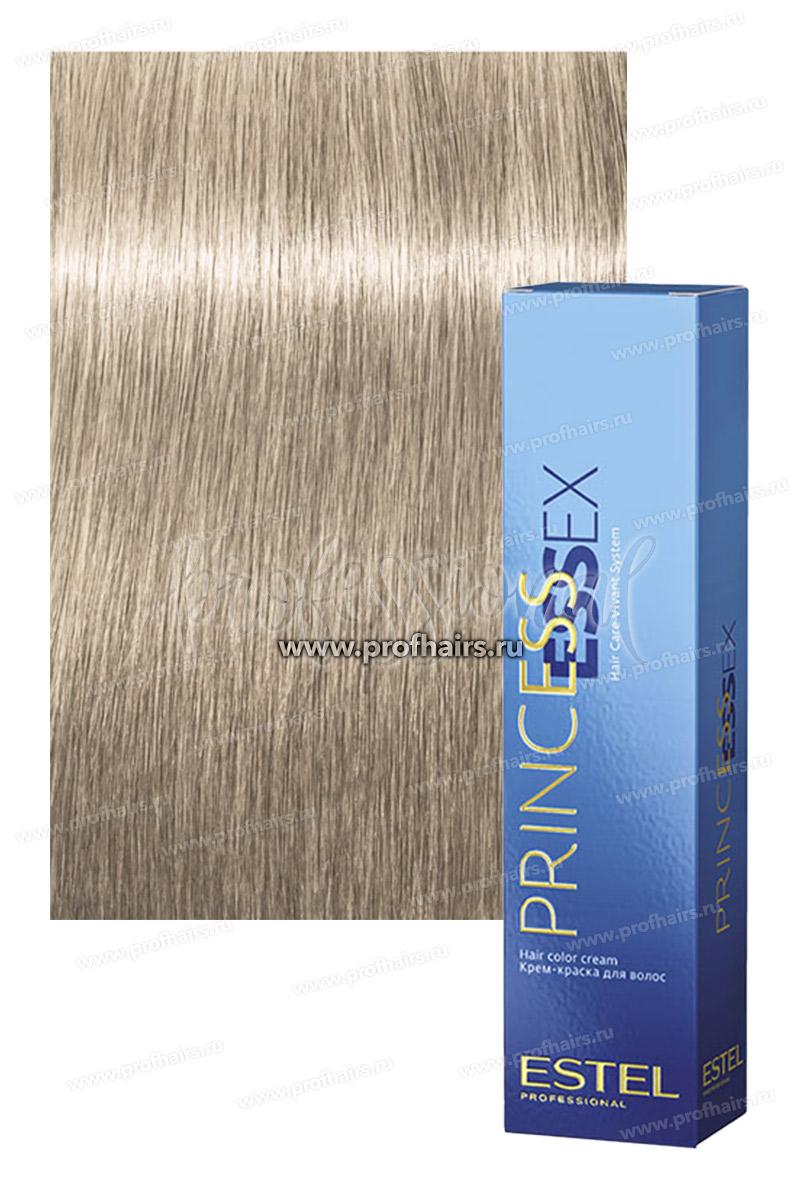 Estel Princess Essex 10/8 Светлый блондин жемчужный (Жемчужный лед) Крем-краска для волос 60 мл.