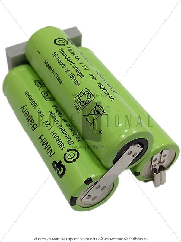 Moser Battery 3,6V 1800 mAh NiMH 1871-7590 Аккумулятор для Moser ChromStyle