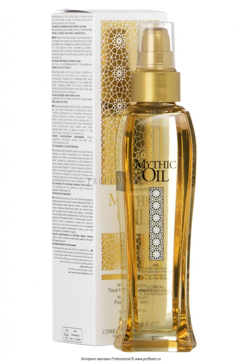 Мерцающее масло для волос и тела mythic oil